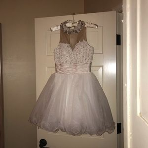 Sherri Hill white dress